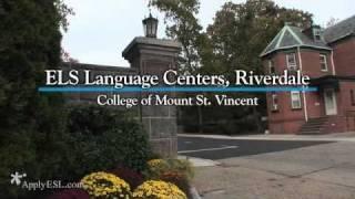 ELS Language Centers, Riverdale, College of Mount St. Vincent