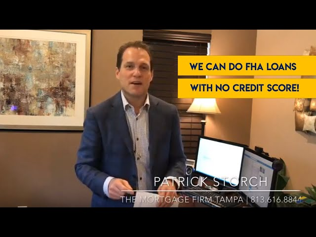 Firm Facts ✅: We Can Do FHA Loans w/ No Credit Scores!