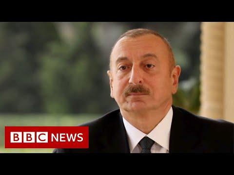 Nagorno-Karabakh: President Ilham Aliyev Speaks To The BBC - BBC News