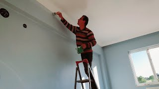 Tavan Duvar Nasıl Boyanır - Plastik Boya Nasıl Yapılır