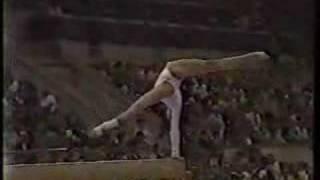 Natalia Shaposhnikova - 1980 Olympics EF - Balance Beam