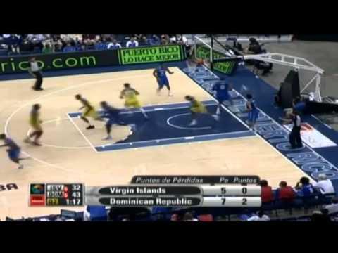 HightsLights - RD 78 - Islas Virgenes 73 // Centrobasket 2012