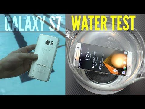 தண்ணீரில் நீந்தும் Samsung Galaxy S7 ஸ்மார்ட்கைப்பேசி (வீடியோ இணைப்பு)