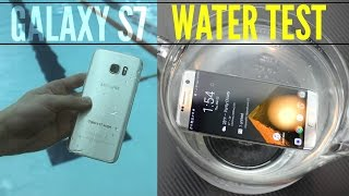 Ultimate Samsung Galaxy S7 Water + Pool Test!