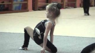 открытый урок по гимнастике...12