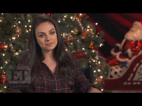 Mila Kunis Talks 'Bad Moms Christmas', Working With Christine Baranski