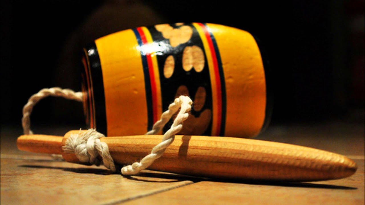 Vista de un balero tradicional mexicano
