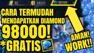 Video WOW!! Cara baru mendapat Diamond di [MOBILE LEGEND] | 100% Aman!#1 download MP3, 3GP, MP4, WEBM, AVI, FLV Agustus 2018