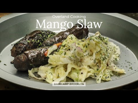 Mango Coleslaw | Southern Inspired Outdoor Cooking