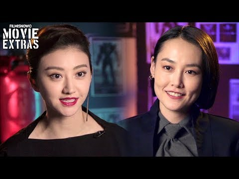 PACIFIC RIM UPRISING  Onset visit with Rinko Kikuchi