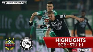 tipico Bundesliga, 15. Runde: SK Rapid Wien - SK Sturm Graz 1:1 (1:0)