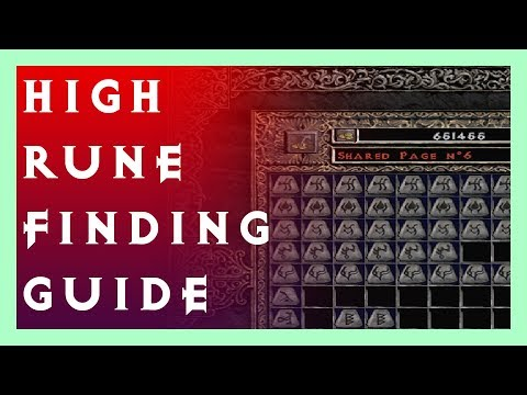 High Rune Finding Guide For Dummies - Diablo 2