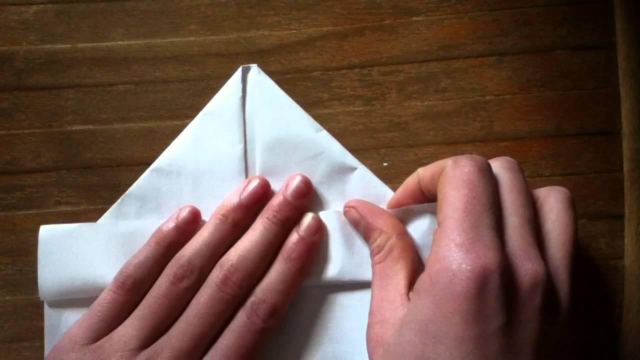 Faire Un Bateau En Papier Pliage Navire Origami