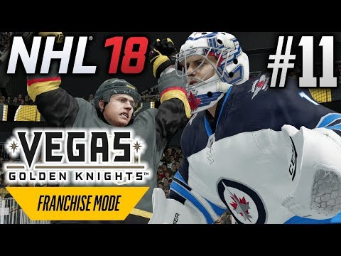 NHL 18 Franchise Mode | Vegas Golden Knights | EP11 | IN YOUR FACE (S2G18)