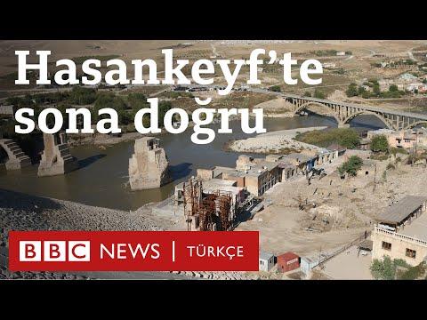 Hasankeyf'te sona doğru: Tarihi çarşı yıkılıyor