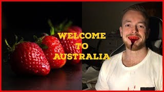 NEEDLES IN STRAWBERRIES!? Welcome to Australia
