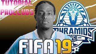 FIFA 19 - TUTORIAL FACE I Keno (Pyramids F.C.) [Pro Clubs]