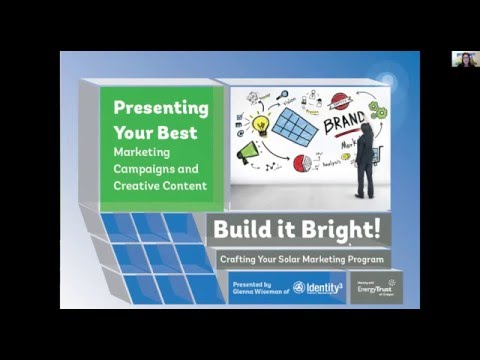 Campaign Creative Marketing Solar Webinar