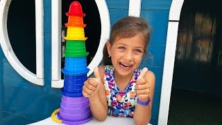 Учим цвета на английском вместе с Эмилюшей/ Colors For Children To Learn with Kinetic Sand