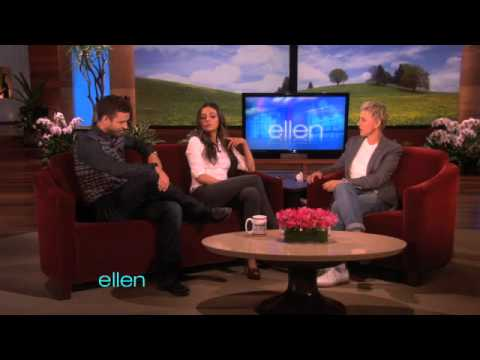 Justin Timberlake & Mila Kunis on Being Nude!