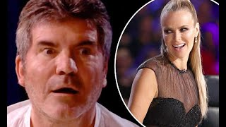 Simon Cowell mortified after David Walliams jokes he slept with Britain's Got Talent's Amanda Holden