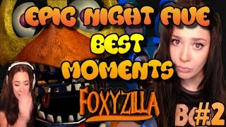 Five Night's at Freddy's BEST moments | EPIC night 5