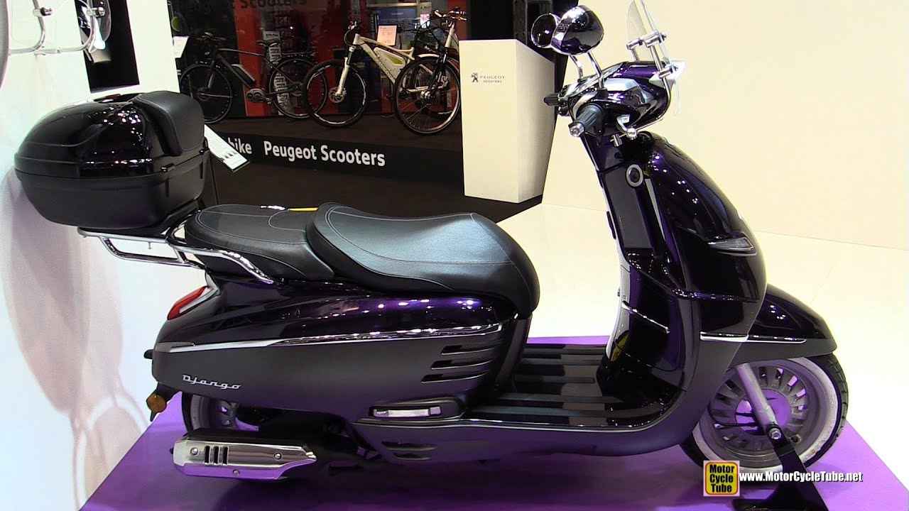 2015 peugeot django 150 allure scooter walkaround 2014 eicma milan motorcycle exhibition. Black Bedroom Furniture Sets. Home Design Ideas