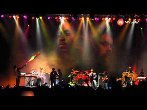 Damian Marley e NAS - Tribes at War (AO VIVO) - MYWAY