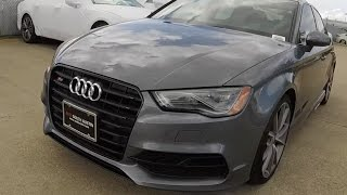 2016 audi s3 quick drive and 0 60 launch control