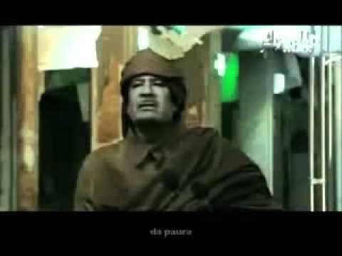 Giorgio Prezioso:Gheddafi in action