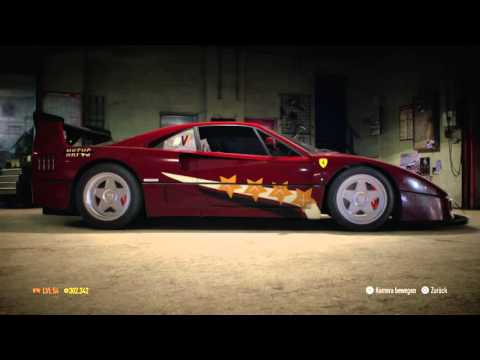 Need for Speed™Ferrari F40(1987) 927PS Galatasaray Istanbul 1905 Design
