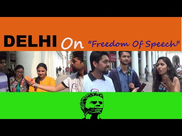 Delhi On Freedom Of  Speech || WTF! ZONE ||