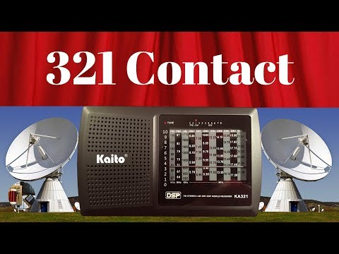 """""""321 Contact"""" Kaito KA321 FM Stereo AM & SW Radio Review"""