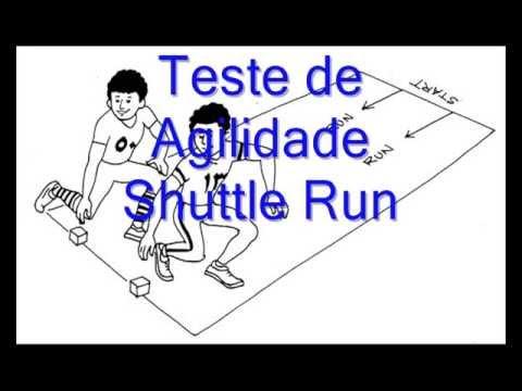 Teste de Agilidade - Shutlle Run