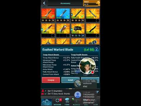 Mobile Strike 101 - New Warlord Gear!  Warning!