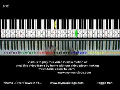How to Play Yiruma - River Flows In You - Piano - Tutorial - YouTube