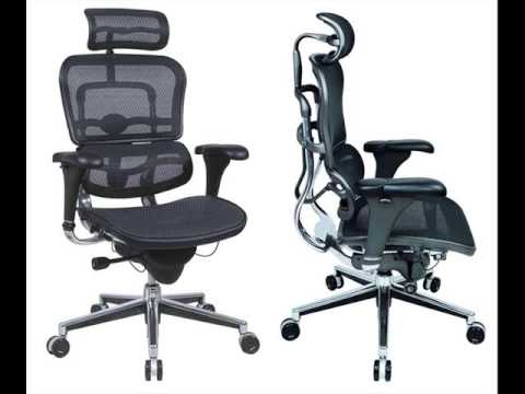 Ergonomic Chairs Ease the Pain of Sitting
