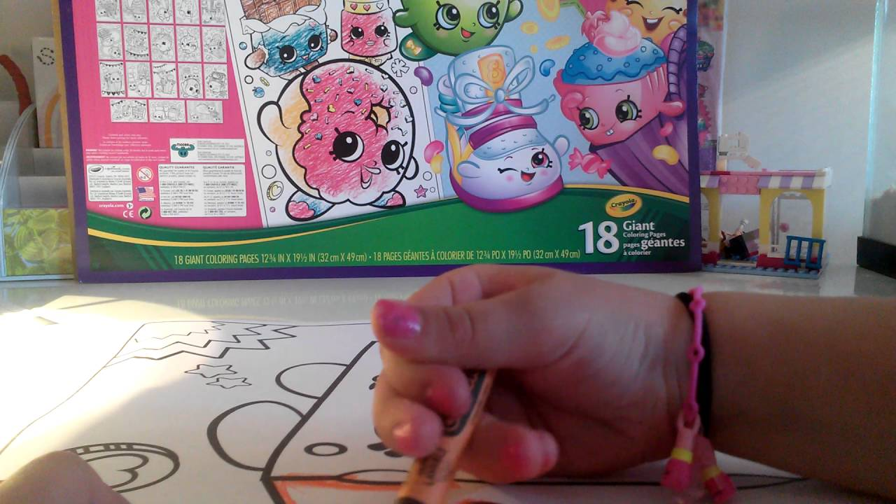 shopkins giant coloring book