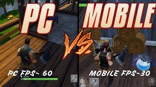 FORTNITE PC vs FORTNITE MOBILE, Android/Ios DOWNLOAD LINK