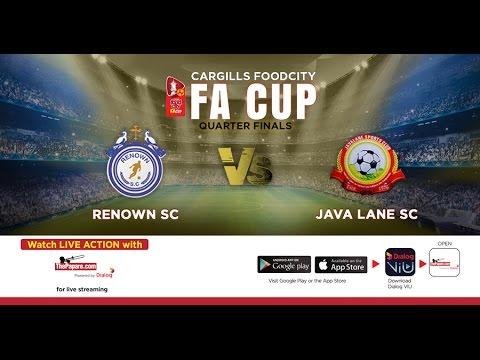 Renown SC v Java Lane SC - 2017 FA Cup QF4 - 7th May