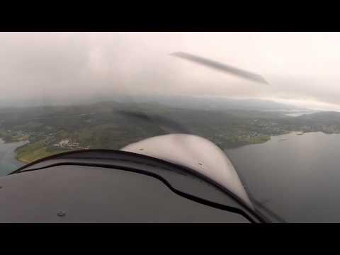 Seagull Airlines Scandinavian Tour 2014 landing Narvik Evenes ENEV