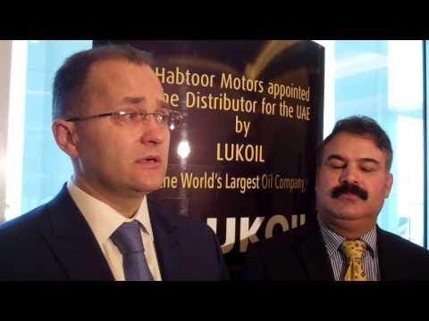 LUKOIL Company's senior officials speak to journalist WILLIAM FARIA