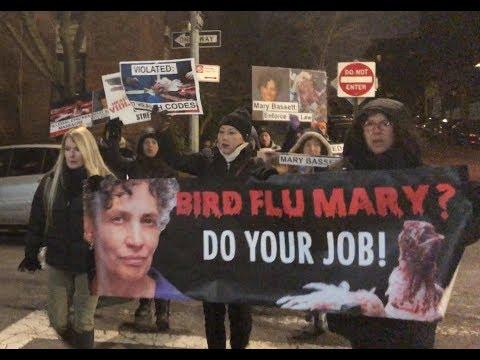 NYers Protest at Home of Health Czar Mary Bassett Over Mass Animal Sacrifice