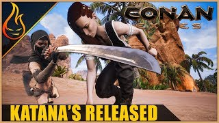 Conan Exiles Katana And Bow Update Released | Patch Notes And Thoughts