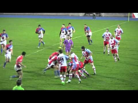 Luxembourg Serbie  30-24 Rugby novembre 2015
