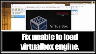 Genymotion on Windows 10: Fix unable to load VirtualBox engine.