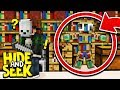 EXTREME MINECRAFT POCKET EDITION HIDE AND SEEK!