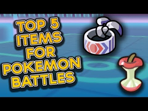 Top 5 Items For Pokemon Battling In Ultra Sun And Ultra Moon!