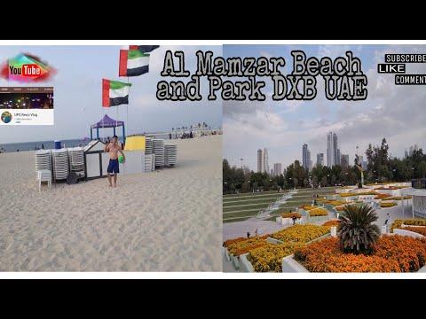 LAKWATSA SA MAMZAR BEACH DXB UAE//UPS REXCI TRAVEL VLOG ADVENTURE