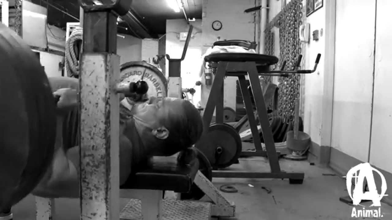 Dan Green Chest Training - YouTube